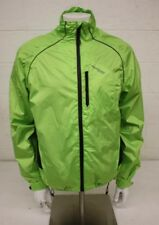 Muddy Fox Neon Green Mesh Lined Lightweight Jacket Men's Medium EXCELLENT LOOK