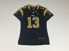 d4a3cbae9 New Women s KURT WARNER St. Louis Rams STITCHED Nike On-Field JERSEY Lg.