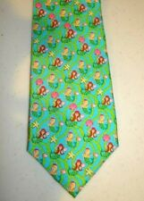 Angela Moore MERMAIDS Men's Necktie Silk Novelty Neck Tie