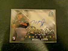 2019 Bowman Chrome MICHAEL KOPECH ROY Favorites AUTO RC /150 White Sox