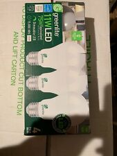 4-pack Greenlite 11w LED Omni Dir 75w Eq Dimmable Light Bulb A19 3000k 4pk NEW