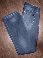 Guess Size 27 Pismo Straight Mid-Rise Dark Wash Jeans