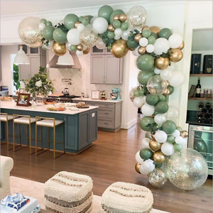 Olive Green Balloon Garland Arch Kit DIY Wedding Baby Shower Party Decorations
