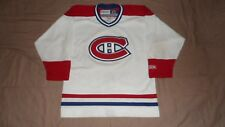Montreal Canadiens White CCM Youth Large/XL NHL Hockey Jersey