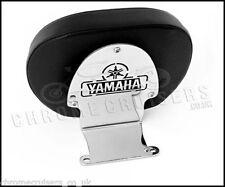 Respaldos color principal cromo para motos Yamaha