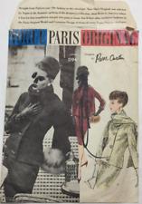 Vintage Vogue Paris Original Pierre Cardin Suit Scarf Pattern 1194 Size 16