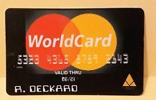 Blade Runner Worldcard prop