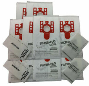 10 Dust Bags & Filters for MIELE FJM Vacuum Cleaner Hoover CAT & DOG