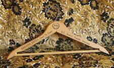 True Vintage Wooden Advertising Clothing Hanger, Sheraton Hotels hawaii Canada
