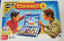 "CONNECT 4  ""u build"", HASBRO, Lego system , COMPLETE Game board 6+ Yrs."