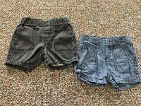 Circo Blue & Black Set of 2 Boys Shorts 12M
