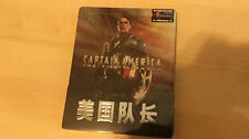 Captain America The First Avenger 3D+2D Blu-ray Steelbook w/ 1/4 slip | Blufans