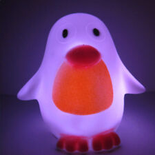 Penguin Animal 7 Colors Changing LED Night Light Home Party Decoration Lamp