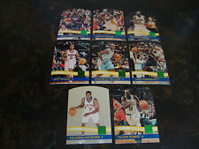 2010-11 Donruss Basketball---Emerald Diecuts---Lot Of 8---No Dupes---See List