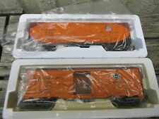 INDUSTRIAL RAIL O SCALE PFE REFER  CARS 1 X SOUTHERN PACIFIC 1 X UNION PACIFIC