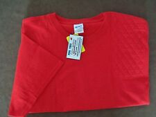 3Xl Left Hand Trap/Skeet Pad Red S/S Ultra Cotton Shooting T-Shirt