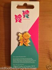 LONDON 2012 OLYMPICS TORCH RELAY FLAME PIN BADGE (LIMITED EDITION)
