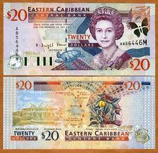 Eastern East Caribbean $20 (2000) Montserrat P-39m UNC