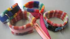 Padded soft dog collars