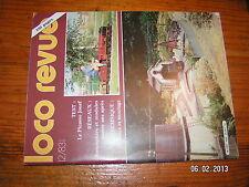 § Loco Revue n°455 Picasso Jouef Moules et moulages Poste haut en O