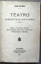 SICILIA TEATRO DIALETTALE