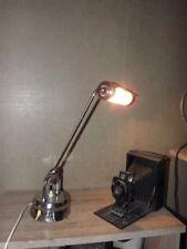 antique lamp TABLE PERRIAND jumo desk old light machine age industrial  bauhaus