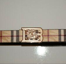 burberry belt  Size 34-36  44inch beige