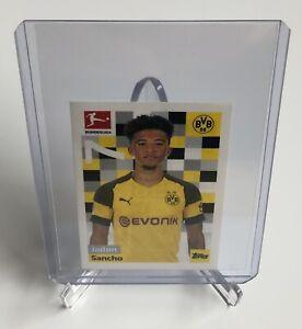2018 / 2019 Bundesliga Topps Jadon Sancho True Rookie Sticker / Card, Dortmund