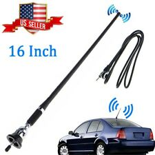"16"" Universal Mount Swivel Base Car Radio AM/FM Amplified Signal Aerial Antenna"