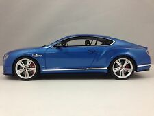 GT Spirit Bentley Continental GT V8 S Blue Limited Edition 504 pcs 1/18 New