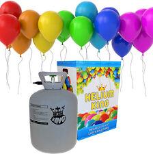 Helium Ballongas Einweg Heliumflasche Folienballons Ballon mit 50 Luftballons