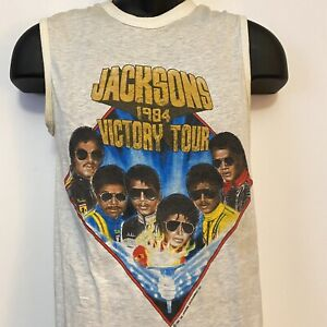 The Jacksons Victory Tour 1984 Officially Licensed Tank Top Size Medium (2)