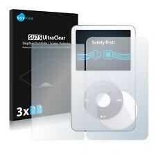 6x Displayschutzfolie Apple iPod classic video (Vorder + Rückseite, 5.