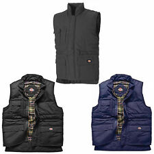 Dickies Professional Combat Bodywarmer Mens Quality Lined Work Gilet BW11025