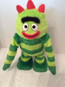 "Spin Master Yo Gabba Gabba Brobee 15"" Dancing Musical Toy 2008 preowned"