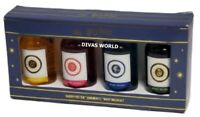 Harry Potter Body Wash Set Of 4 x 150ml Hogwarts House Brand New Gift Box