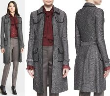 NEW! $2395 St. John Collection Flecked Tweed Knit Topper Jacket [SZ 2] #M763