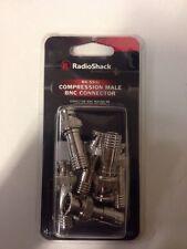 RG-59/U Compression Male BNC Connector #278-032 By RadioShack