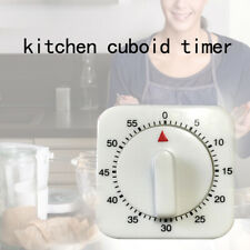 Mechanical Timer Game Kitchen Cooking Tool Count Down Counter Alarm