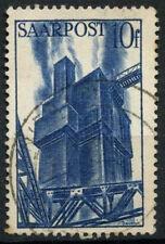 Saar 1948 SG#245, 10f Blast Furnace Chimney Used #D14787
