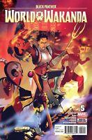 Black Panther World of Wakanda #5 1st Print Marvel comic nm