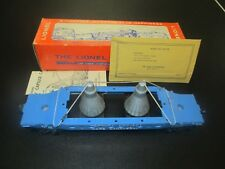 Lionel Postwar Medium Blue 6413 Capsule Carrying Car & Box & More