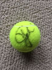 Eugenie Bouchard Signed Autographed Wilson US Open Tennis Ball Genie