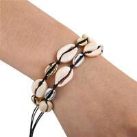 Boho Women Fashion Beach Cowrie Natural Sea Shell Bracelet Jewelry Gifts
