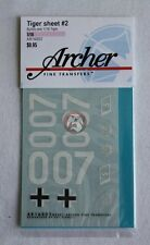Archer 1/16 Tiger I Markings Sheet #2 Michael Wittmann's Last LSSAH Ride AR16002