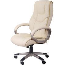 Luxe fauteuil chaise de bureau ordinateur manager pivotante hauteur réglable