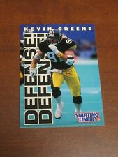 Kevin Greene 1996 Kenner Starting Lineup Card - Pittsburgh Steelers
