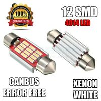 AUDI A2 A3 8L 8P Xenon White Canbus LED License Number Plate Error Free Bulbs