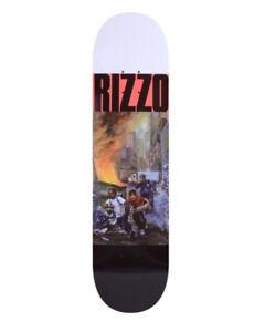 "QUASI SKATEBOARDS - DICK RIZZO RUN SKATEBOARD DECK 8.375"" INCH NEW"