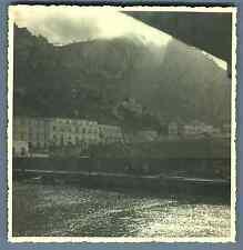 Italia, Capri, Hotel Belvedere e Tre Re  Vintage silver print. Italy  Tirage a